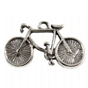 Bicycle 3D Sterling Silver Charms